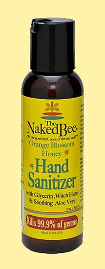 Naked Bee 2oz Hand Sanitizer