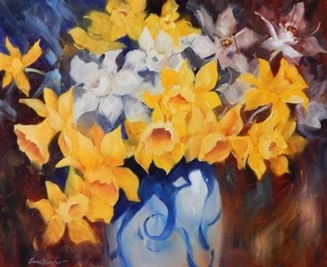 Daffodils by Anne Hunter