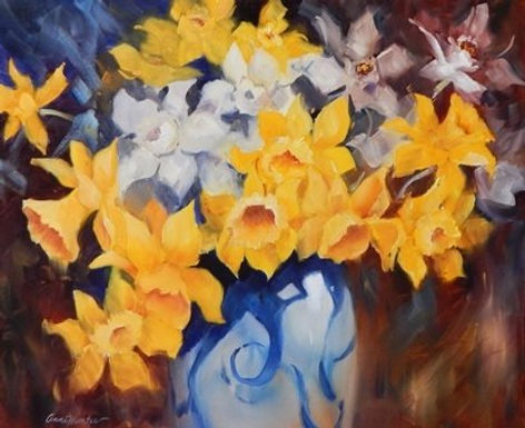 Daffodils by Anne Hunter