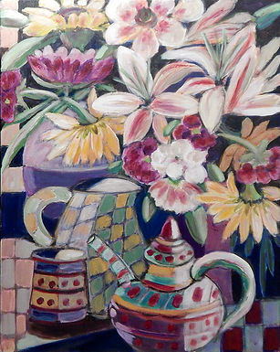 Flowers I by Carolyn Keifer HONORABLE MENTION