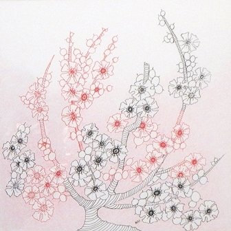 Asian Blossoms by Maryann Amodeo