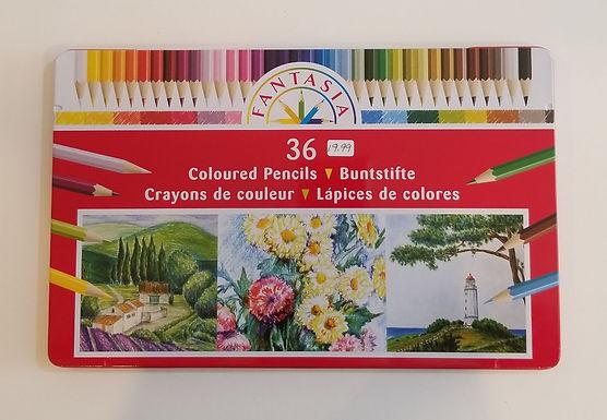 Fantasia 36 Coloured Pencils