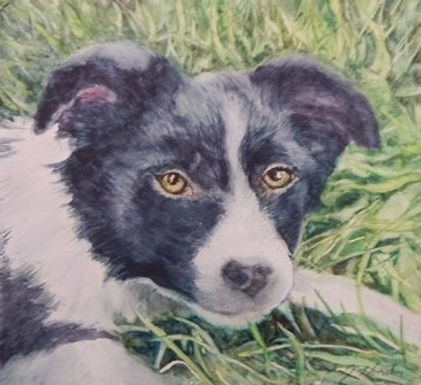 Alfred Puppy by Jean Hendry