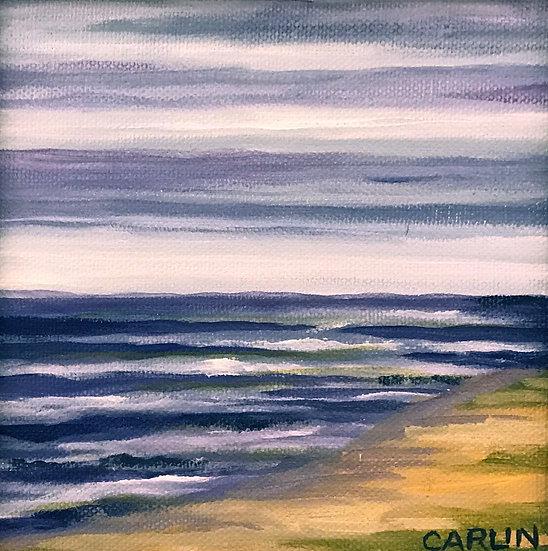 Beach Day by Sue Carlin
