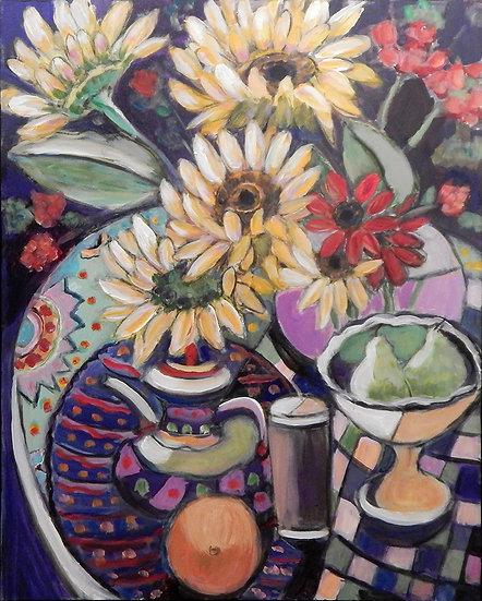 Flowers II by Carolyn Keifer