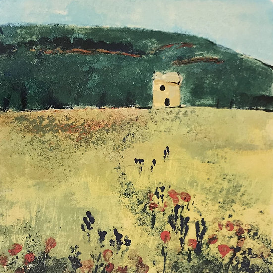 Vaucluse en Provence (Small) by Jodie Apeseche - Giclee