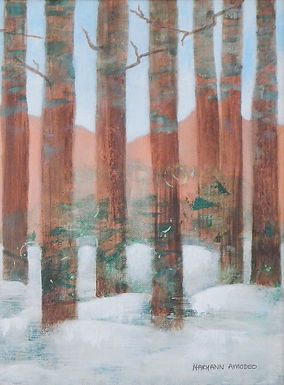 Melting Snow by Maryann Amodeo
