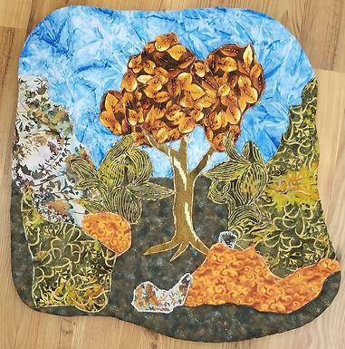 Autumn Tree by Tobi Hoffman