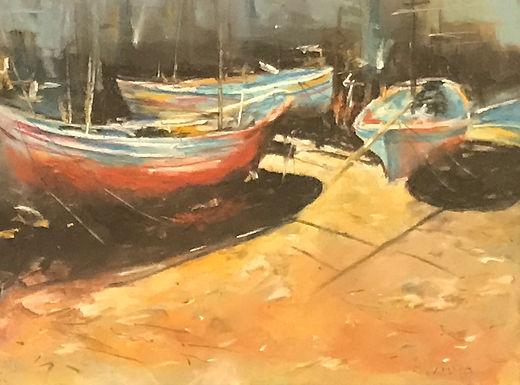 HM: Boat Yard by Ralph Caputo