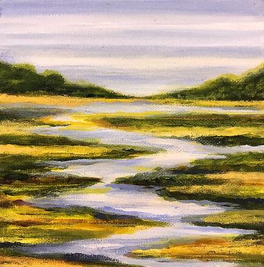 Meandering River by Sue Carlin