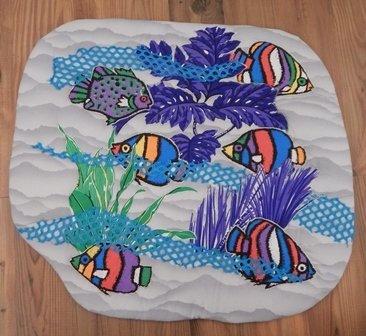 Crayon Fish in the Sea by Tobi Hoffman