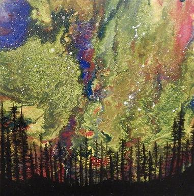Aurora Mystical Forest I by Kristin Wilkinson