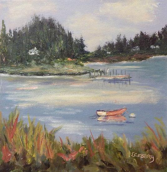 Maine Cove  by Gail Eckberg