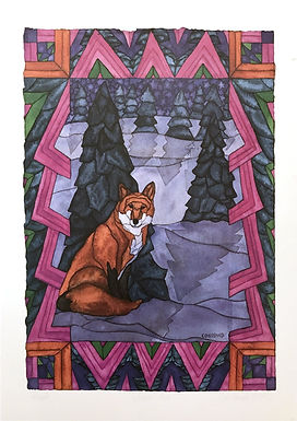 Winter Fox by Constand