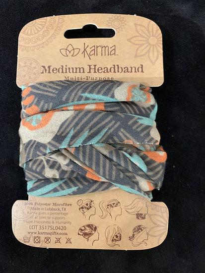 Karma Half Headband - Retro Flower
