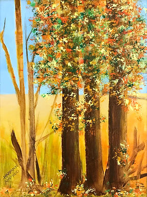 Autumn Days by Maryann Amodeo