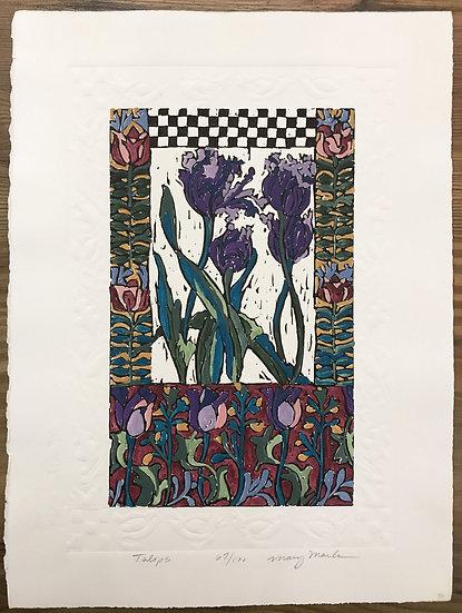 Tulips by Mary Mark