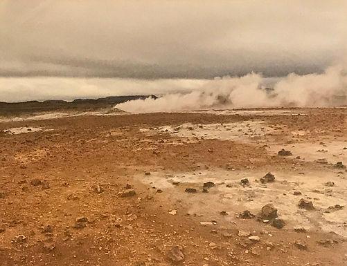 Iceland Fumaroles by Ginney McDermott