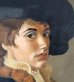 Self Portrait - Oil Painting