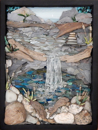Waterfall by Lee Berman - People's Choice Winner