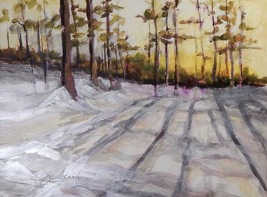 Good Morning Sunrise by Sandra Kavanaugh -Sold
