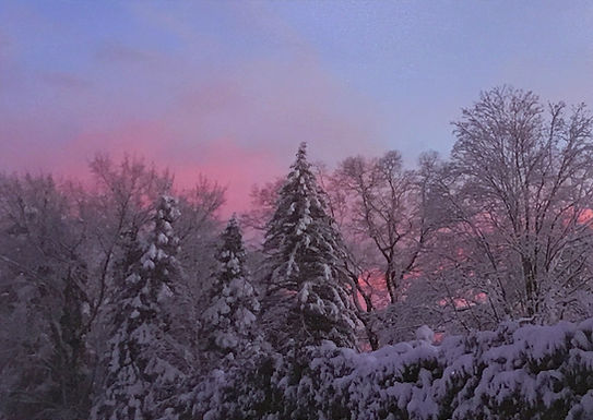 Winter Sunset by Sandy Howard