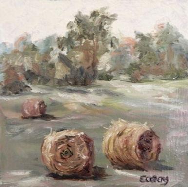 Hay Field by Gail Eckberg