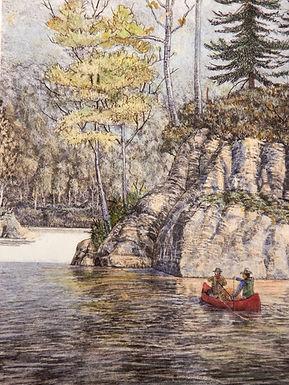 The Voyageurs by Daniel VanZyle