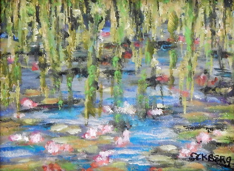 Weeping Willows & Smiling Lilies by Gail Eckberg