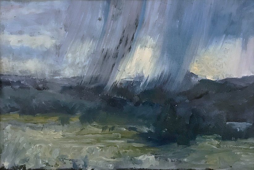 Mt. Monadnock Quick Storm by Frank Bennett
