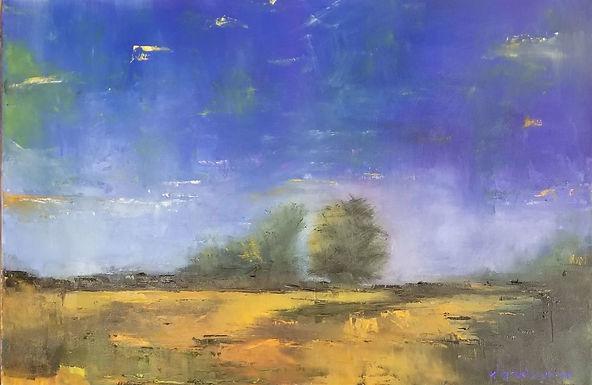 Dawn or Dusk by Elizabeth Ricketson: 3rd Place Winner