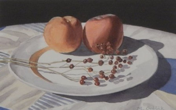 HONORABLE MENTION Peaches by Maryann Goblick