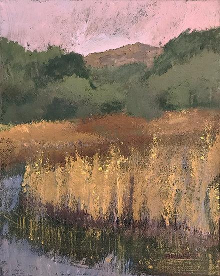 Monadnock and Marsh by Frank Bennett