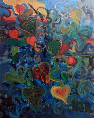 Hot Flowers by Helen Russel