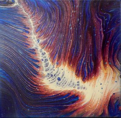 Paint Pour #26 by Jane Yates