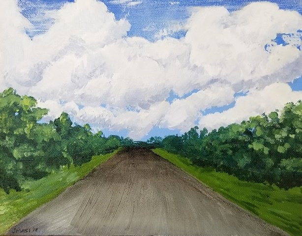 Highway Clouds by Jillian Masi