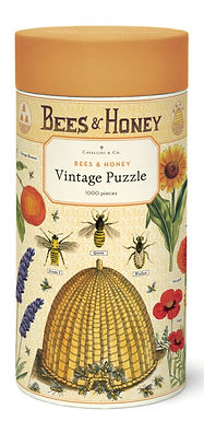 Cavallini & Co Vintage Bees and Honey 1000 pc Puzzle