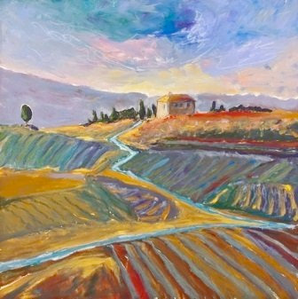 Tuscan Memory by Jodie Apeseche - Giclee