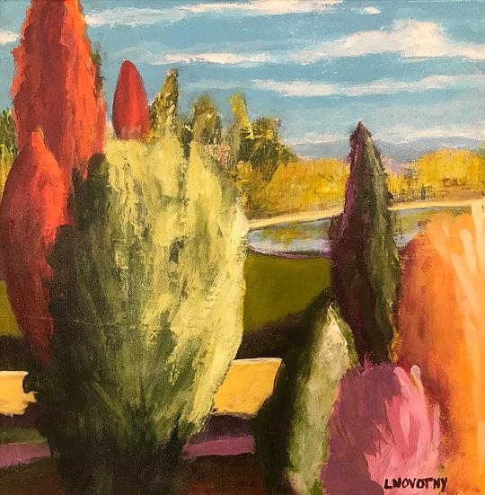 Tuscan Fantasy by Lois Novotny