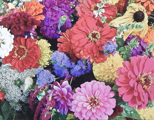 Kelly's Flowers by Candy Imming