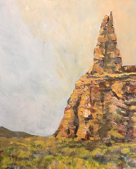 Needle Rock Shell, WO by Frank Bennett
