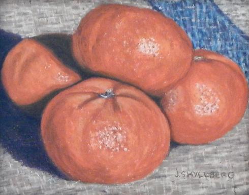 Tangerines by Jody Shyllberg