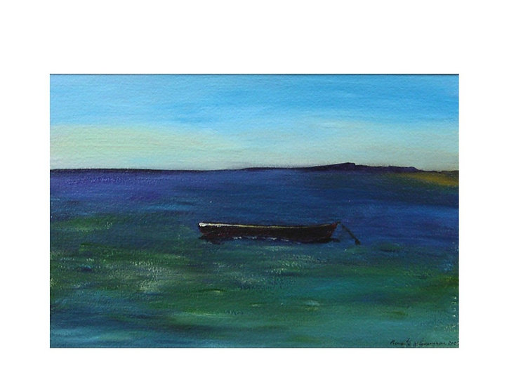 Calmly Anchored - Sold
