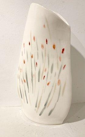 Flower Dots Vase by Lisa Segarra