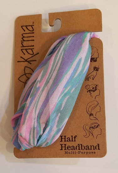 Karma Half Headband - Marble s18