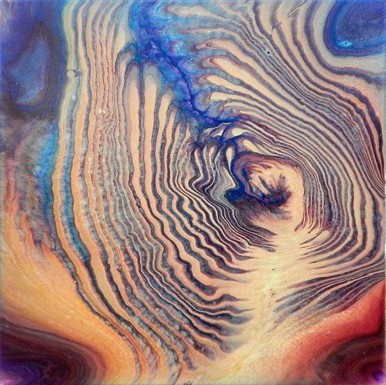 Paint Pour #18 by Jane Yates