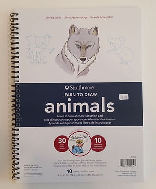 Learn To Draw Animals by Strathmore