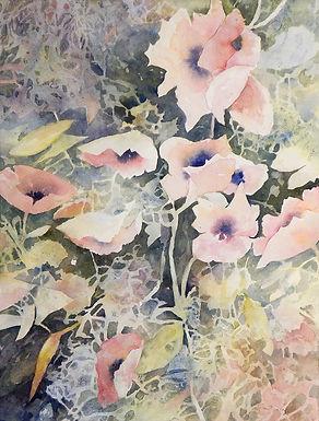 Poppy Tangle by Karen Nunley 3rd PLACE WINNER