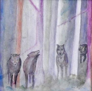 Wolves in the Woods by Lisa Segarra
