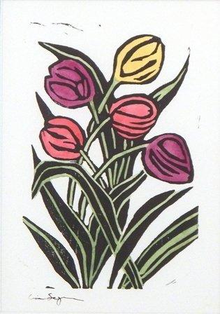 Spring Tulips by Lisa Segarra